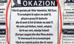 """OKAZION/ Njoftimi që duhet ta lexojnë të gjithë meshkujt para """"Shën Valentinit""""!"""