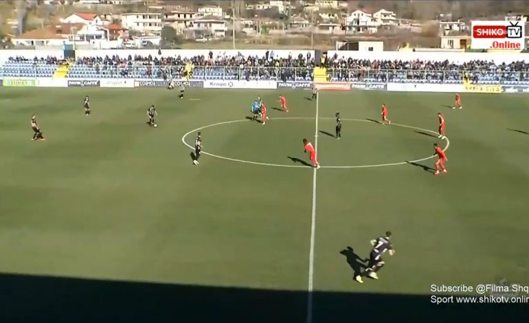 LIVE/ Mbyllet ndeshja Laçi-Partizani. Rezultati 1-3