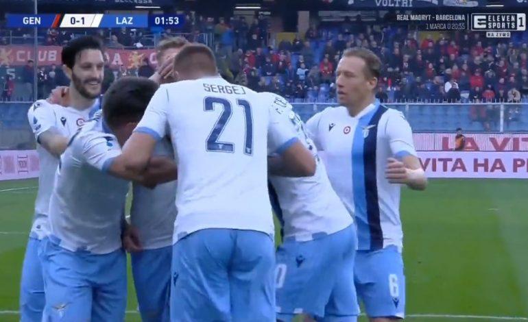 MARUSIC I MERR TË GJITHË PËRPARA/ Lazios i mjaftojnë 99 sekonda për avantazhin! (VIDEO)