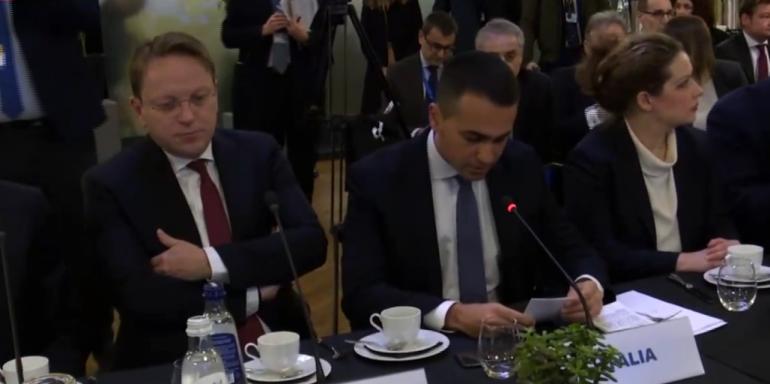RAMA NË MËNGJESIN E PUNËS TË ORGANIZUAR NGA DI MAIO/ Komisioneri Varhelyi: Operacioni OFL tregon lidership në luftën kundër krimit
