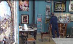 KORONAVIRUSI/ Ka ngjyra dhe brenda 4 mureve, piktori Gazment Xhaferri rrefen ditët e tij në karantinë (VIDEO)