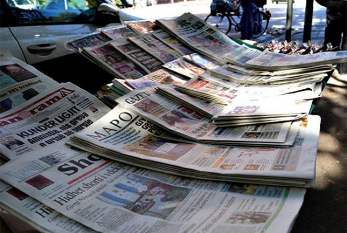 KORONAVIRUSI NË SHQIPËRI/ Mbyllet shtypi i shkruar, gazetat ndërpresin botimin për të ruajtur lexuesin