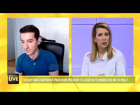 """SKANDALI/ Taulant Muka """"hedh fall"""" në TV: Ja sa do VDESIN në Shqipëri deri në 18 Prill"""