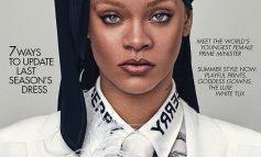 FEMRA E PARË QË.../ Rihanna bën histori në kopertinën e British Vogue
