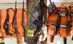 NË KOHË KORONAVIRUSI/ Qëlluan me armë në ajër. Arrëstohen 7 persona në Dibër, çfarë zbuloi Policia në pyll