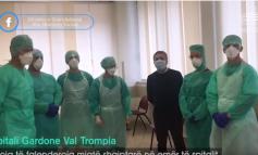 """""""ME ENERGJI DHE...""""/ Manastirliu: Infermierët shqiptarë në Itali filluan punë sot në spitalin e Breshias"""