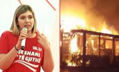 NË KOHË KORONAVIRUSI/ Deputetes së opozitës i djegin lokalin në Vlorë, ja dyshimet e para (FOTO)