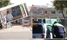 COVID-19 PREK 8 EFEKTIVË POLICIE NË TIRANË/ Të infektuarit shërbenin te pritja e qytetarëve (VIDEO)