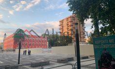 PAMJET E REJA/ Çfarë ka mbetur nga hapësira ku do ndërtohet Teatri i ri Kombëtar