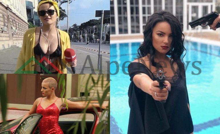 RRJETI PO FLET PËR TË/ Njihuni me gazetaren që raportoi me bikini. Pozat me armë dhe… (FOTOT)