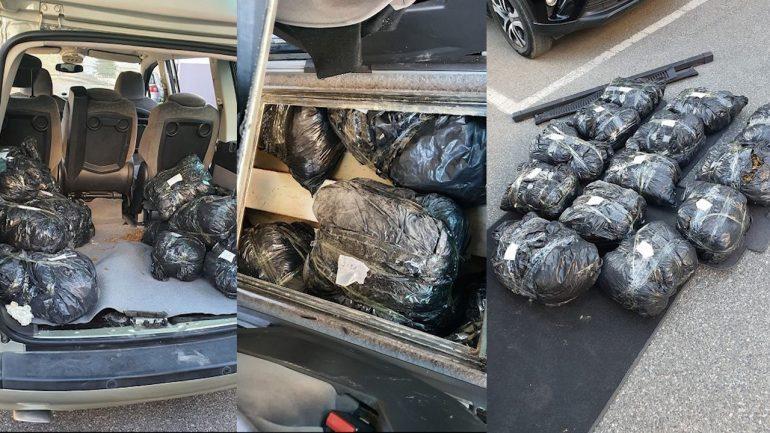 """OPERACIONI """"DOMOSDOVA""""/ Sekuestrohen 28.5 kg drogë në Elbasan, arrestohen 3 korçarë, në kërkim…"""