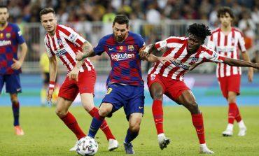 """LIVE/ """"Panenka"""" e Messit nuk mjafton. Barcelona dhe Atletico ndajnë pikët në """"Camp Nou"""""""