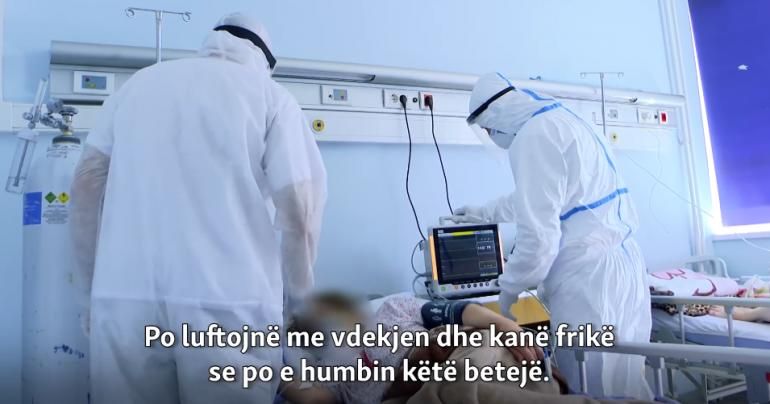KORONAVIRUSI/ Në luftë mes jetës dhe vdekjes së pacientëve me COVID-19, brenda Klinikës Infektive në Kosovë