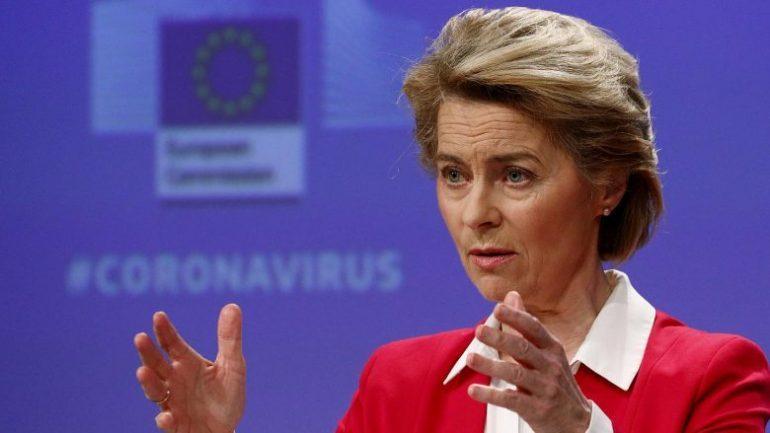 """""""DO TË JAP MBËSHTETJEN TIME""""/ Presidentja e KE-së, Ursula von der Leyen mirëpret vazhdimin e dialogut Kosovë-Serbi"""