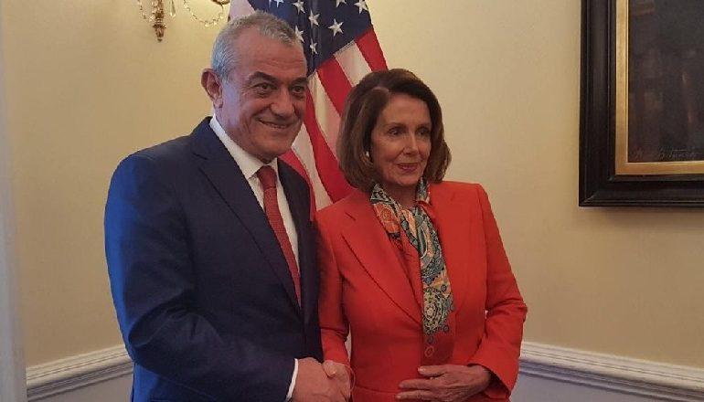 URON PALOSI-N PËR PAVARSINË E AMERIKËS/ Ruçi: SHBA shpëtimtari i kombit shqiptar, festë për të gjithë botën demokratike