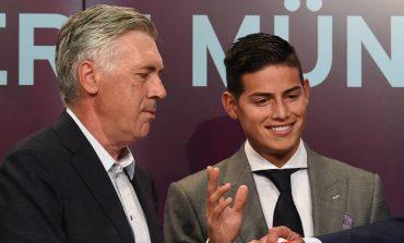 """DUA TË JEM I SINQERTË""""/ Ancelotti: James Rodriguez më pëlqen shumë si lojtar, por…"""