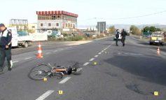 AKSIDENT NË AUTOSTRADËN SHKODËR-LEZHË/ Makina përplas biçikletën, ndërron jetën një person