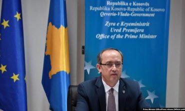 DIALOGU ME SERBINË/ Hoti: Në një muaj rikthyem mbështetjen për njohjen reciproke, marrëveshja do i japë Kosovës atë që i takon