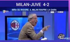 """FESTA E """"ÇMENDUR"""" E CRUDELIT/ Komentatori italian nuk përmbahet pas përmbysjes spektakolare të Milanit ndaj Juventusit (VIDEO)"""