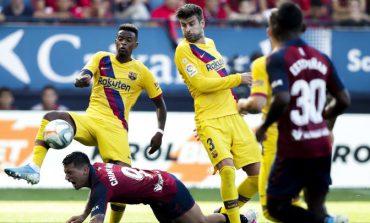 "LIVE/ Mbyllet ndeshja Barcelona-Osasuna në ""Camp Nou"". Rezultati 1-2"