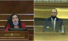 KUVENDI NË KOSOVË/ Osmani përplaset ashpër me deputetin serb, Simiç: Nuk kam kërkuar votën tuaj për t'u bërë...