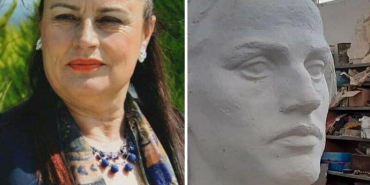 DELVINË/ Së shpejti skulptura në bronz e aktores Hajrie Rondo