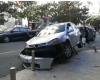 AKSIDENT I RËNDË NË DURRËS/ Makina shmang përplasjen, përfundon në hekurat anës rrugës (FOTO+VIDEO)