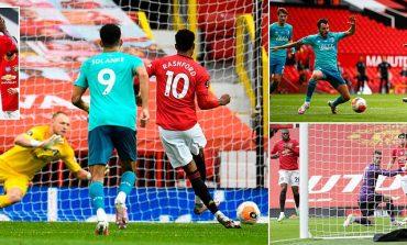 """PREMIER LEAGUE/ """"Djajtë e Kuq"""" shkatërrojnë Bournemouth, Vardy prek historinë me Leicester"""