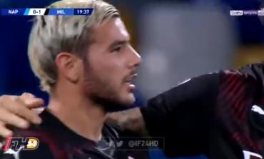 """SUPER AKSION NGA MILAN/ Theo Hernandez """"shpërthen"""" portën e Napolit (VIDEO)"""