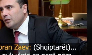 PËRGJIMET E PUBLIKUARA/ Ofendimet e Zaevit: Reagojnë partitë shqiptare