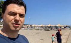 """""""DO T'IU JAP PARA PËR PUSHIME""""/ Basha premtim shqiptarëve nga vila në Gjirin e Lalzit: S'po bëni dot plazh, plani im ekonomik do t'i japë subvensione..."""