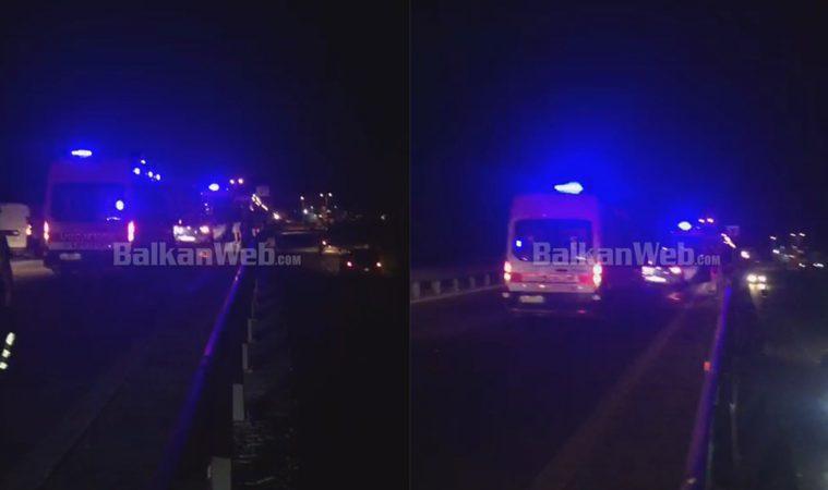 AKSIDENT NË KAVAJË/ Dyshohet për të plagosur, tre ambulanca në vendngjarje