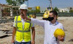 MBIKQYR RINDËRTIMIN E SHKOLLËS SË MESME/ Ahmetaj: Laboratorë, palestër dhe ambiente të gjelbëruara brenda 26 nëntorit