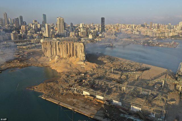"""SHPËRTHIMI TRAGJIK/ Shkalla e shkatërrimit që """"shfarosi"""" Beirut-in e la 300,000 persona të pa strehë"""
