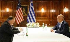 TENSIONET ME TURQINË/ Ministri grek i Mbrojtjes takon Mike Pompeo