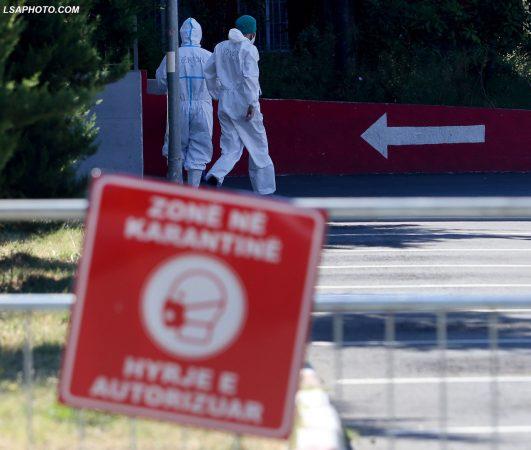 SITUATË SERIOZE/ 119 pacientë të shtruar në dy spitalet Covid, mbi 1 mijë raste aktive vetëm në Tiranë