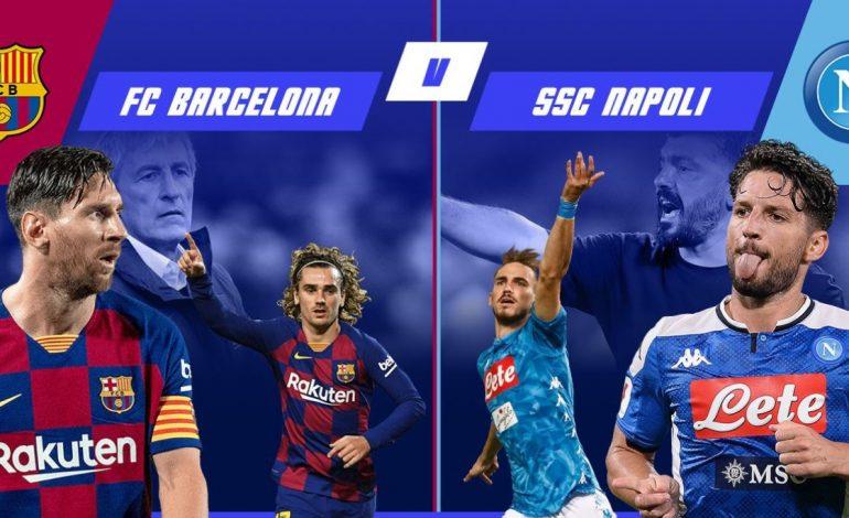 LIVE/ Mbyllet ndeshja Champions Bacelona-Napoli. Rezultati 3-1