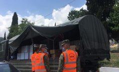 NË KOHË PANDEMIE/ Vazhdon operacioni humanitar në Gjirokastër. FA shpërndan 1500 litra ujë, 1200 kurasan, si dhe...