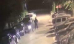 ATENTATI I DYTË BRENDA 1 JAVE PËR PTONARIN E HOTELIT/ Momenti kur autorët qëllojnë me breshëri plumbash para makinave luksoze (VIDEO)