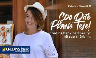 CREDINS BANK/ Paketa e Biznesit në mbështetje të çdo biznesi shqiptar