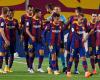 """BARCELONA TRIUMFON ME """"POKER""""/ Shkëlqen Ansu Fati, Messi """"kap"""" kapitenin Ramos"""