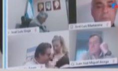 NDODH EDHE KJO/ Deputeti skena të nxehta me të dashurën në mbledhje live, shihnin momentin kur e puth në…