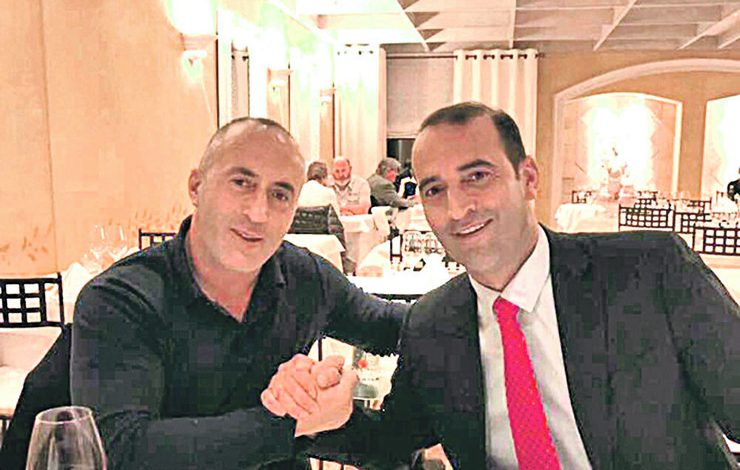 NDODH EDHE KJO NË KOSOVË/ Ramush Haradinaj me të vëllain rrahin një punëtorin e tyre