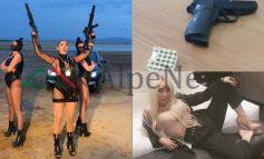 VIDEOKLIPE ME ARMË/ Jeta E LUKSIT në rrjete sociale e Fjolla Morinës, këngëtates shqiptare që u kap sot me DY pistoleta