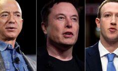 PANDEMIA I BËRI MË TË PASUR/ Plot 845 miliardë dollarë fitime për Bezos, Musk dhe Zuckerberg