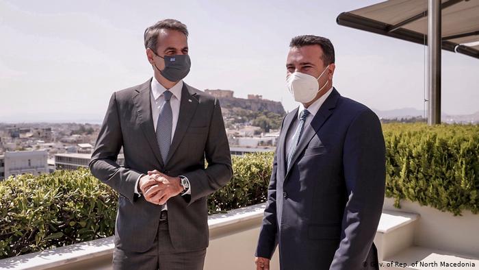 """""""NUK MUND TË QUHET DASHURI ME SHIKIM TË PARË…""""/ Ç''ndodhi në takimin Mitsotakis-Zaev"""
