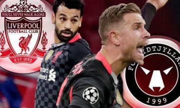 LIVE/ Champions: Mbyllet ndeshja Liverpool-Midtjylland. Rezultati 2-0