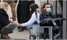 MASAKRA NË KISHË/ Dalin pamjet nga arrestimi i autorit të sulmit terrorist në Francë (VIDEO)
