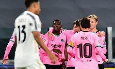 """CHAMPIONS/ Barcelona """"shëtit"""" në Torino, Dembele-Messi protagonistë. Morata vendos rekord historik"""