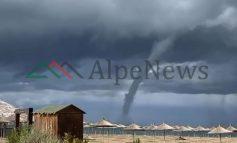 PAMJET EKSKLUZIVE/ Tornado në Gjirin e Lalzit, banorët...